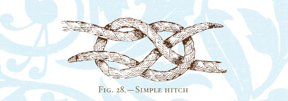 A simple hitch.