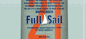 Full Sail Brewing 21st Birthday Website