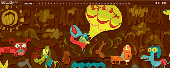 Tim May's Wacom Wallpaper